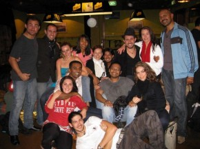Bachateros after the Sydney Bachata Festival