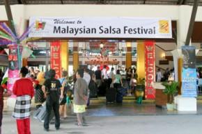Malaysia Salsa Festival entrance
