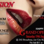 Passion – Latin Party 19th Sept